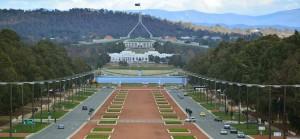 stolica australii budynek parlamentu
