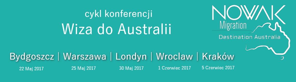dany miejsca konferencji o wizach do australii Nowak Paulina