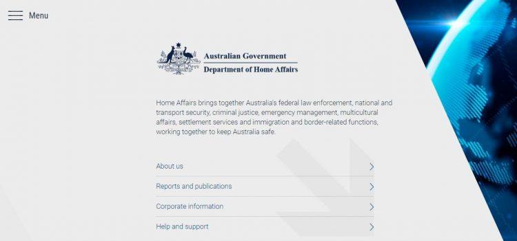 Australia. Urząd imigracyjny ma nową stronę.